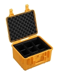 Type 20 Outdoor Case Orange 1.2816/O/RPD B&W Case with Removable Padded Dividers-DISCONTINUED