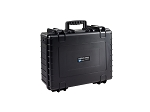 Type 6000 Outdoor Case Black 6000/B/SI B&W Case with Sponge Insert