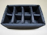 Type 30 Outdoor Case Insert 4.3515/RPD Removable Padded Divider B&W Case